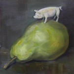 A Pig on a Pear