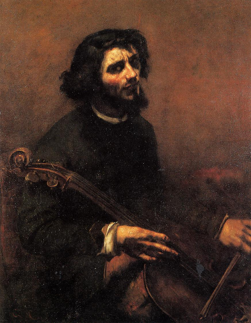 Gustave_Courbet_the-cellist-self-portrait-1847
