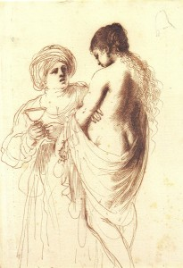 Guercino_Bathsheba_attended_by_her_Maid_1640_25.5x17