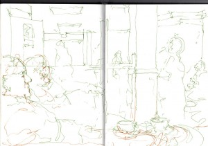 continuous_line_sketch_cafe
