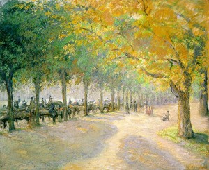 Camille_Pissarro_Hyde_Park_London_1890