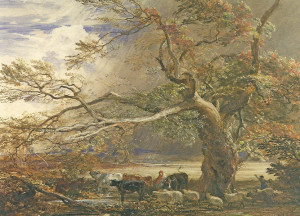 Samuel_Palmer_Sheltering_from_the_Storm_1849_watercolour_and_gouache